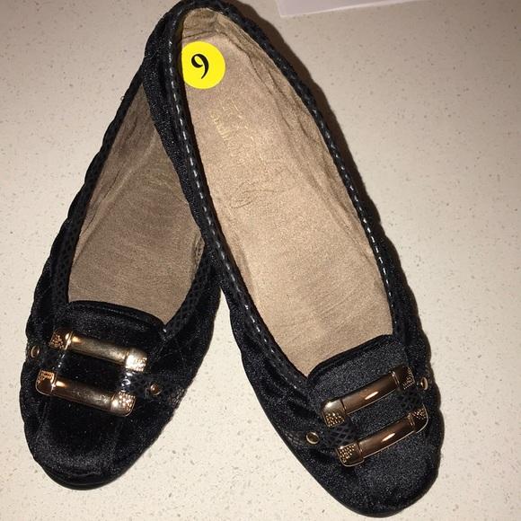 61532326c3f Aerosoles Stitch N Turn Shoes - Black flats